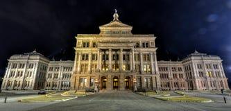Texas State Capitol Building, nuit Image libre de droits