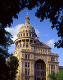 Texas State Capitol (daytime). The Texas State Capitol Building, in Austin Texas, photographed in the afternoon royalty free stock photography