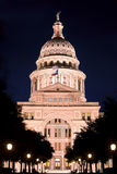 Texas State Capitol at night Stock Image