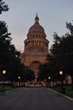 Texas State Capitol at night Stock Photos