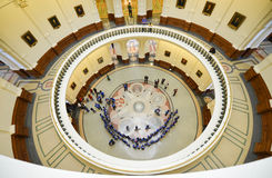 Texas State Capitol Rotunda Austin, Texas Royaltyfri Fotografi