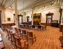 Texas State Capitol Supreme Court Austin, Texas Arkivbilder