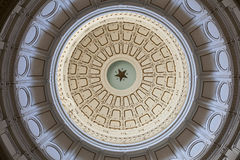 Texas State Capitol's ceiling Stock Image