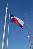 Texas State Fair Flag. The Texas flag flies proudly over the State Fair of Texas stock image