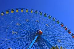 Texas State Fair Ferris Wheel Royalty Free Stock Photography