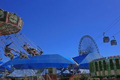 Texas State Fair Ferris Wheel Royalty Free Stock Images