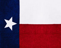 Texas state flag Royalty Free Stock Photo