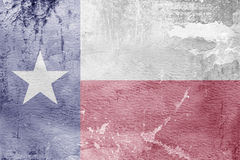 Texas state flag of America Royalty Free Stock Photo