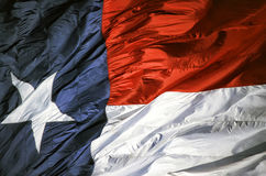 Texas State Flag. Closeup of the Texas state flag royalty free stock photos
