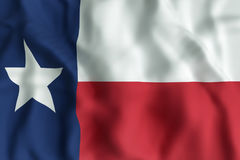 Texas State flag. 3d rendering of a Texas State flag Stock Photo