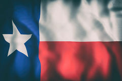 Texas State flag. 3d rendering of a Texas State flag Royalty Free Stock Photo