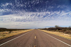Texas State Highway 118 Fotografie Stock