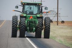 Texas State Highway 137, il Texas, U.S.A. immagine stock libera da diritti