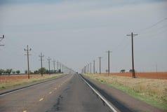 Texas State Highway 137, il Texas, U.S.A. fotografie stock libere da diritti