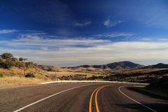 Texas State Highway 118. Scenic Landscape along Texas State Highway 118, American Southwest Royalty Free Stock Image