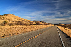 Texas State Highway 118. Scenic Landscape along Texas State Highway 118, American Southwest Stock Images