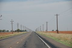 Texas State Highway 137, Texas, USA royalty free stock photos