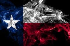 Texas state smoke flag, United States Of America.  stock illustration