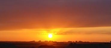 Texas Sunrise Foto de Stock Royalty Free