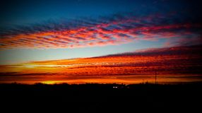 Texas Sunrise fotos de archivo