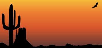 Texas Sunset Fotografie Stock Libere da Diritti