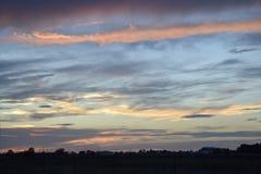 Texas Sunset Fotos de Stock Royalty Free