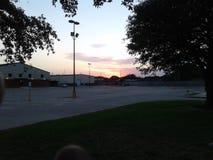 Texas Sunset del sud immagini stock libere da diritti