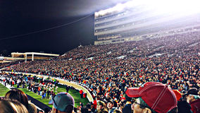 Texas Tech Football Stadium - Lubbock Stock Afbeelding