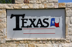 TEXAS tecken Royaltyfria Bilder