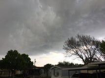 Texas Thunderstorm fotografia stock