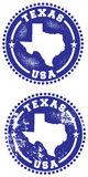 Texas USA Seal Royalty Free Stock Images
