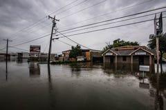 Texas våröversvämning Royaltyfria Bilder