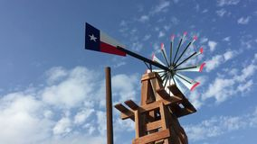 Texas weather vane. A Texas weather vane video, USA stock video footage