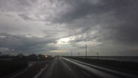 Texas-Wetterwetter Lizenzfreies Stockbild