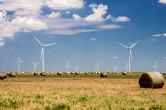 Texas Wind Farm Imágenes de archivo libres de regalías
