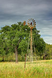 Texas Windmill Arkivfoton