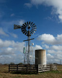 Texas Windmill Photographie stock