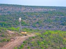 Texas windmill royalty free stock photo