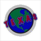 Texas World Icon Photo libre de droits