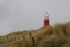 texel маяка дюн Стоковая Фотография