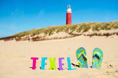 Texel island Royalty Free Stock Photography