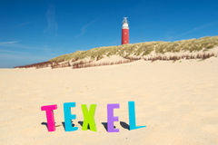 Texel island Royalty Free Stock Photos