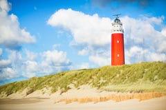 Texel Leuchtturm lizenzfreie stockbilder