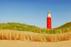 Texel lighthouse stock photography
