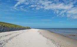 Texel strand Royaltyfria Foton