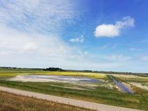 Texel, una pequeña isla de los Países Bajos Imagenes de archivo
