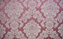 Texrure avec des conceptions florales antiques Photo libre de droits