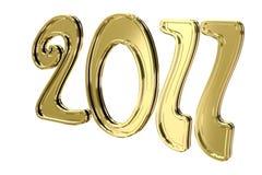 Text 2011 des neuen Jahres Stockfotografie