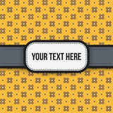 Text background with colorful pixelated pattern Royalty Free Stock Photo