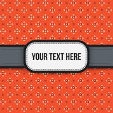 Text background with colorful pixelated pattern Stock Photos
